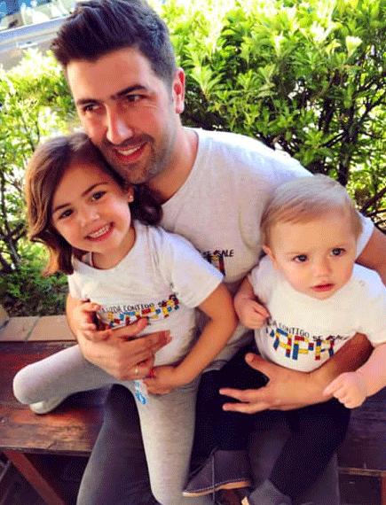 """Camiseta Niños """"La vida contigo se sale Papá"""""""