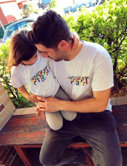 """Camiseta Adulto """"La vida contigo se sale Papá"""""""