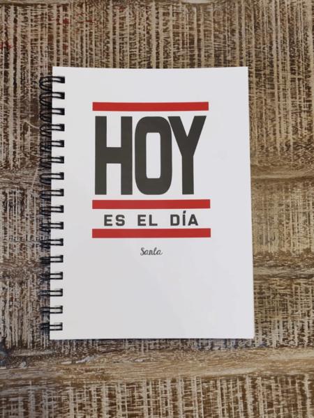 """Libreta """"Hoy es el día"""""""